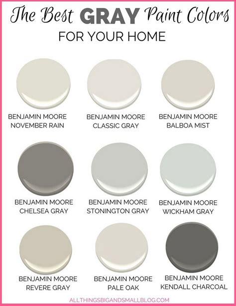 Best Benjamin Moore Grays For Bedroom Psoriasisgurucom