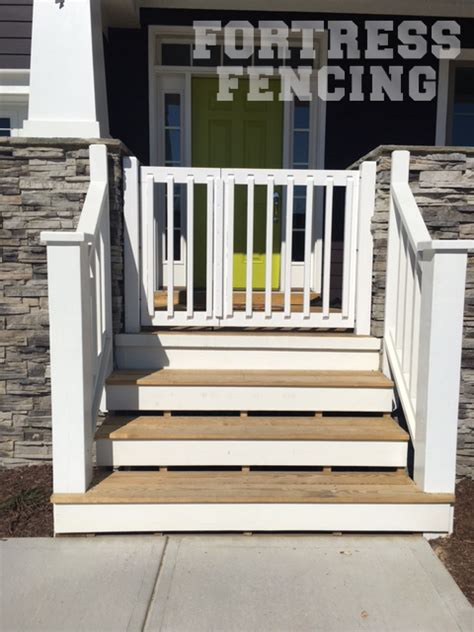 gate for front porch residential entry gates fortress fencing