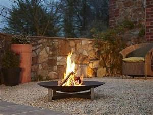 foyer exterieur design basileek brasero feu With photo deco terrasse exterieur 7 deco fausse cheminee
