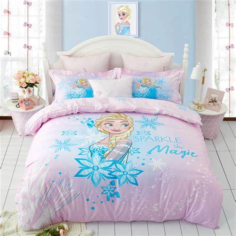 disney frozen princess anna cotton bed linen printed bed