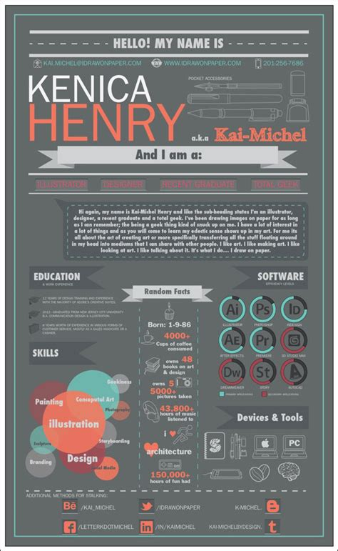 Cool Infographic Resumes by 40 Creative Cv Resume Designs Inspiration 2014 Web