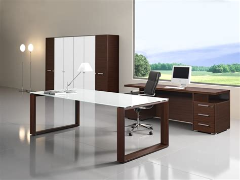 Office Desk Glass Cover by Arche Executive Desk Glass Top Allard Office Furniture