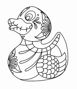 Yucca Flats Nm Wenchkinu002639s Coloring Pages Rubber Duckie