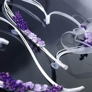 Deco Avec Piece De Voiture : coeur en rotin avec fleur parme pour d coration de voiture de mariage x 2 pi ces ~ Medecine-chirurgie-esthetiques.com Avis de Voitures