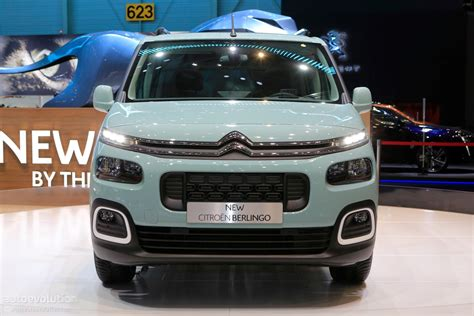 2018 Citroen Berlingo Multispace Joins Facelifted C4