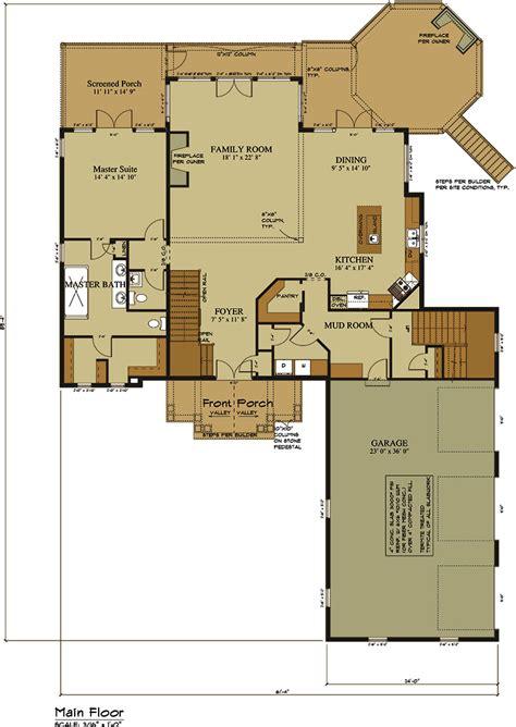 car garage lake house plan lake home designs