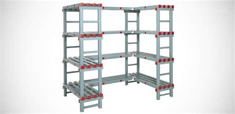 scaffali di plastica scaffali modulari multiripiano in plastica per celle