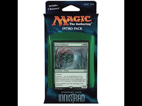 mtg shadows over innistrad intro deck horrific visions