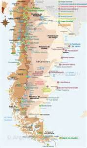 Patagonia Argentina Map National Parks
