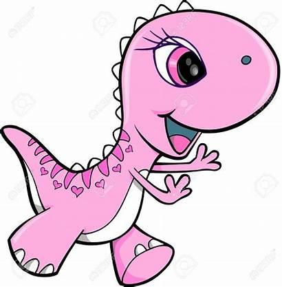 Dinosaur Pink Vector Clipart Dinosaurs Animal Illustration