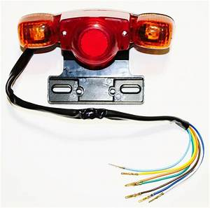 Tail Light For Mini Chopper Dirt Bike Mini Bike With Turn