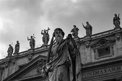 Vatican Statue Vaticano Church Statues Catholic Monument