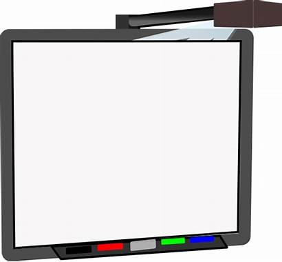 Board Smart Blank Clip Clipart Vector Clker