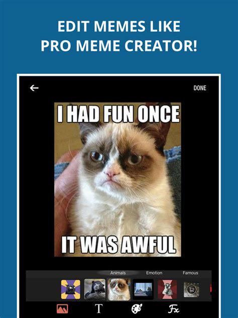 Meme Maker Ios - meme maker no 1 memes creator app apprecs