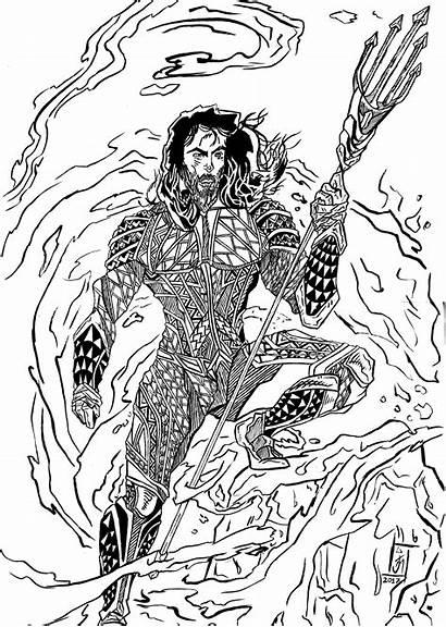 Aquaman Artstation Justice League