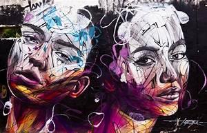 Street Art Bordeaux : tirage photo plexiglas street art portrait f minin ~ Farleysfitness.com Idées de Décoration