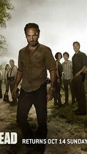 640x1136 The Walking Dead Season 2 Cast Iphone 5 wallpaper