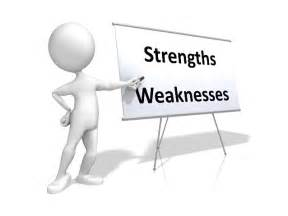 strengths and weaknesses assessing strengths and weaknesses