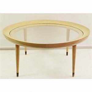Table Ronde Verre Et Bois : table basse verre et bois vintage le bois chez vous ~ Teatrodelosmanantiales.com Idées de Décoration