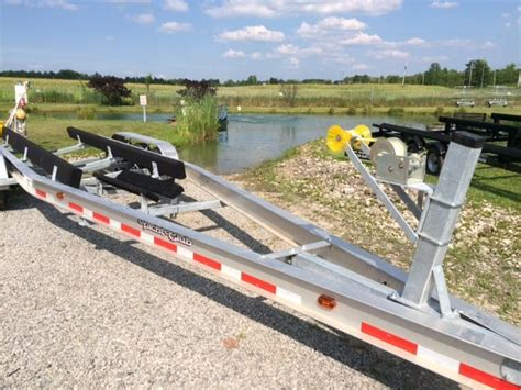 Used Boat Trailer Tri Axle by Aluminum Tri Axle Boat Trailer Cleveland Ohio Boats