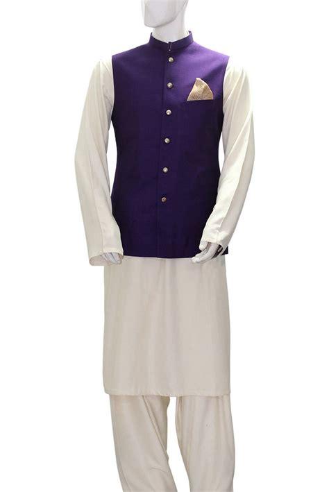 White formal waistcoat