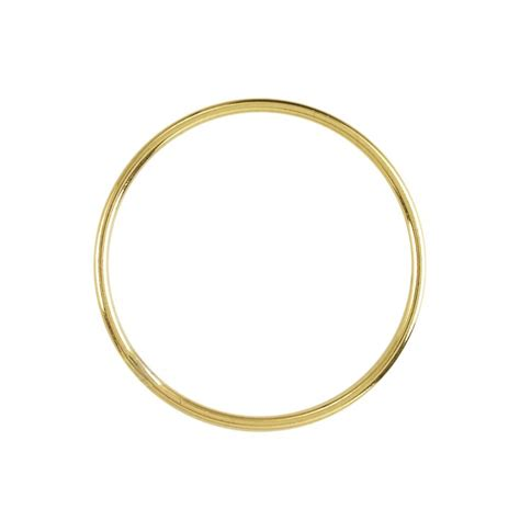 14/20 Yellow Gold-Filled Circle Component