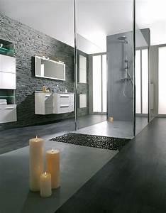 Photo Salle De Bain Moderne : salle de bain design moderne sur mesure gbs ~ Premium-room.com Idées de Décoration