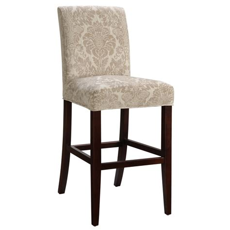 quot slip quot upholstered bar stool by powell counter