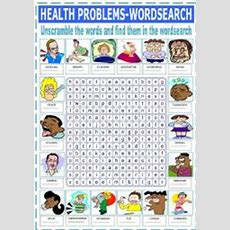 English Teaching Worksheets Health Problems