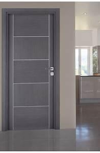porte interieur casoar finition chene cendre porte design With porte de garage et porte d interieure contemporaine