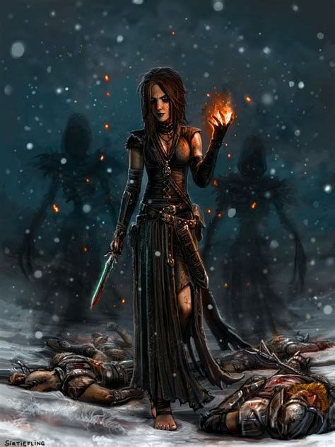 fantasy art inspiration characters magic art world