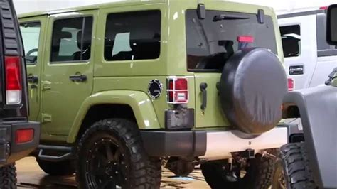 commando green jeep lifted 2013 jeep wrangler unlimited freedom edition for sale
