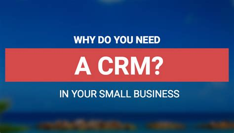 Why You Need A Crm  Blue Cow Marketing Inc