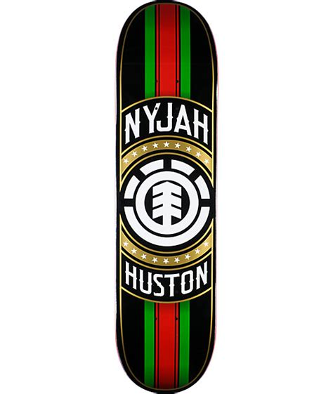 element nyjah huston tastemaker 8 0 quot skateboard deck