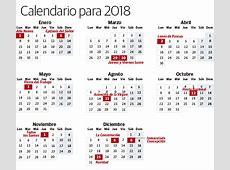 Calendario 2018 feriados 2019 2018 Calendar Printable