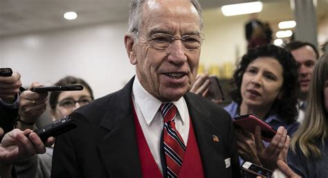 Grassley: Trump Jr. interview transcript release likely to