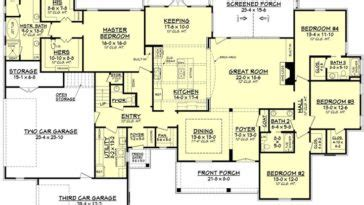 Plans Maison En Photos 2018 Craftsman House Plan