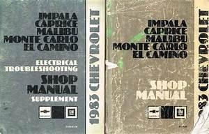 Buy 1983 Chevrolet Impala  El Camino  Monte Carlo