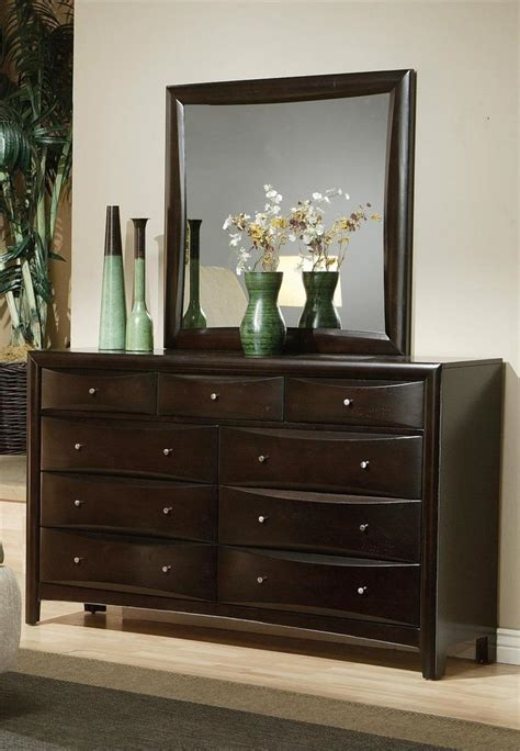 Dresser Bed by Leather Headboard Storage Bedroom Set Pheonix Collection
