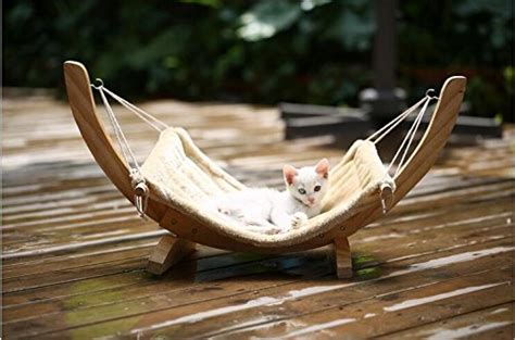 xcellent global pet cat kitten hammock bed sofa plush