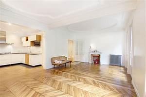 renovation d39un appartement haussmannien a paris mairie 19eme With parquet haussmannien