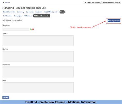 resume module plugin custom design for phpfox younet