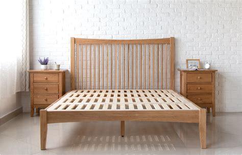 wood furniture singapore thames wood bed frame solid