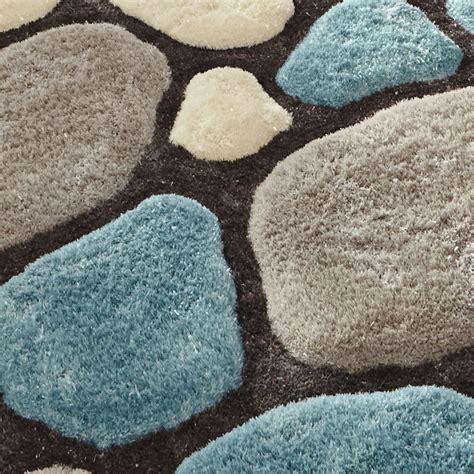 pebble rug noble house hand tufted shaggy pile floor rug super soft pebble style home decor ebay