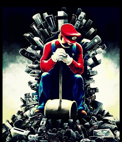 Super Marios Game Of Thrones Mini Skirts By Nikolech