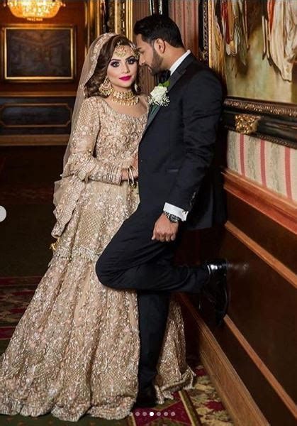 pakistani walima nikah golden bridal outfit ready