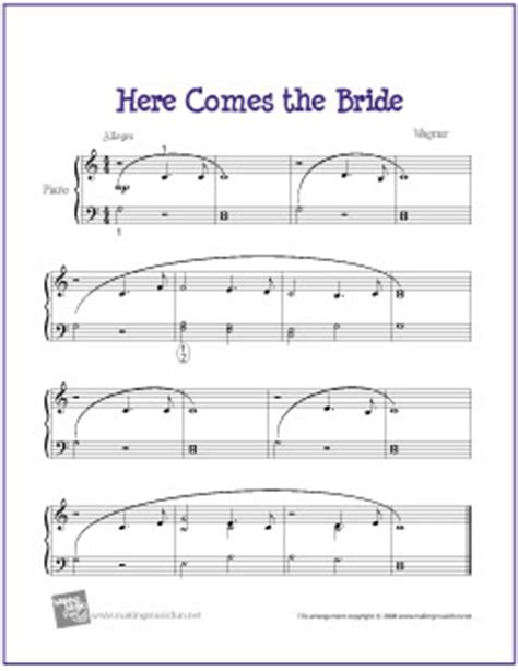 Old Rugged Cross Guitar Tab by Here Comes The Bride Free Easy Piano Sheet Music