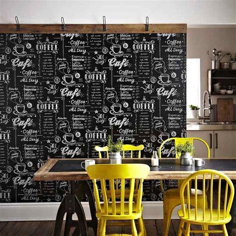 papier peint cuisine original papier peint tendance 50 idées pour une maison moderne