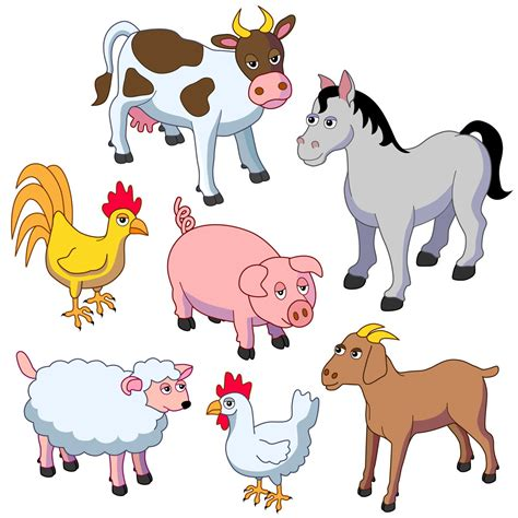 Farm Animals List - Animal Sake