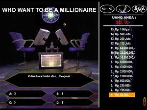 who wants to be a millionaire template game With who want to be a millionaire game template